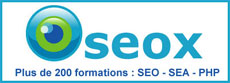 Oseox : R�f�rencement Google et cr�ation de trafic
